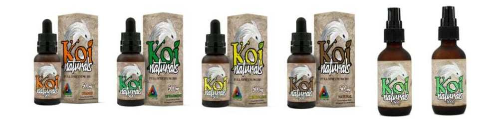 KOI NATURALS CBD OIL IS NOW 100% VEGAN CERTIFIED