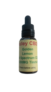 Valley CBDS Full Spectrum Natural Lemon Flavor 1200MG