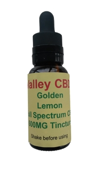 Valley CBDS Full Spectrum Natural Lemon Flavor 600MG