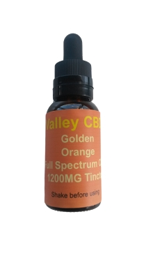 Valley CBDS Full Spectrum Natural Orange Flavor 1200MG