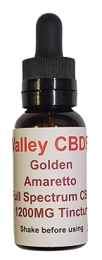 Valley CBDS Full Spectrum Natural Amaretto Flavor 1200MG