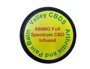 Valley CBDS Arthritis and Pain Balm 600 MG Full Spectrum CBD Infused