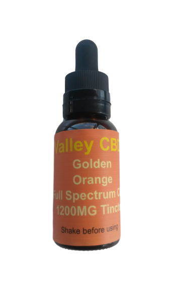 Valley CBDS Full Spectrum Natural Blood Orange Flavor 600MG
