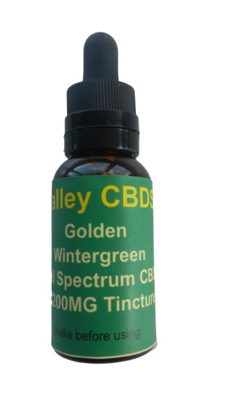 Valley CBDS Full Spectrum Natural Wintergreen Flavor 1200MG